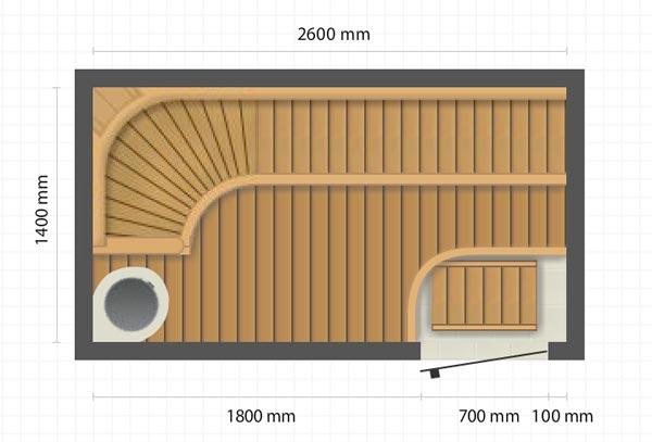 Saunan suunnittelu verkossa – valjasta suunnitteluohjelma avuksi  Villa Kuus