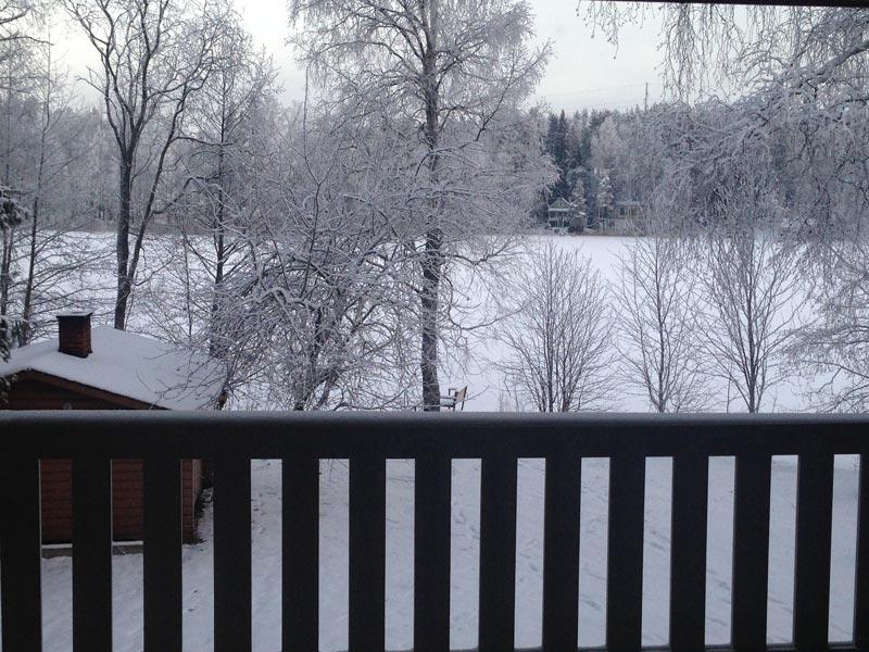 Tammikuussa ulkona oli vuoden kylmin aika.